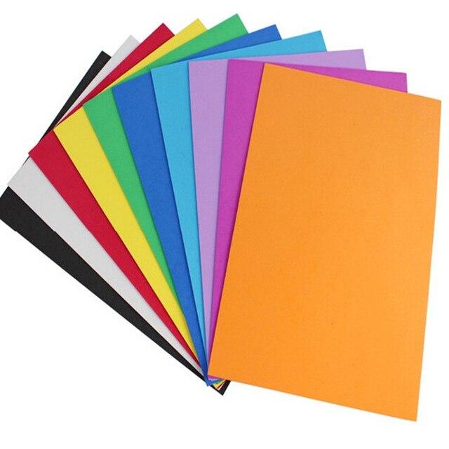 10 pcs a4 eva feuilles de papier mousse maternelle bricolage artisanat ponge papier artisanat. Black Bedroom Furniture Sets. Home Design Ideas