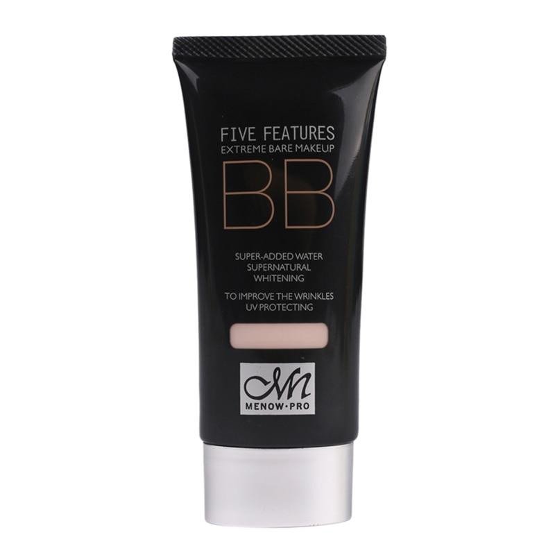 by DHL 50Pcs/Lot M.n Menow Protection Moisturizing BB Cream Supernatural Makeup Moisturizing Nourishing Whitening BB Cream