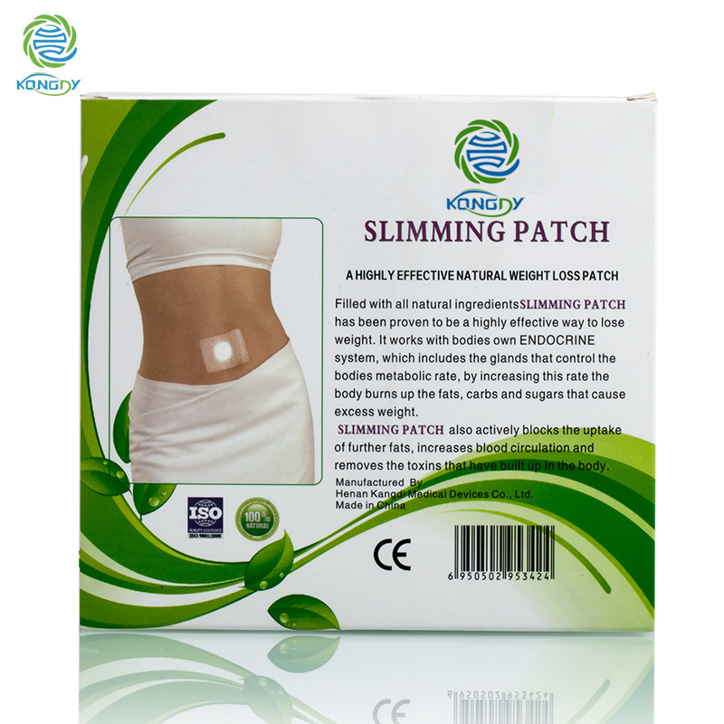 KONGDY Herbal Navel Slimming Patch Powerful Fat Burning Slimming 30 pieces/box Slimming Products to Lose Weight and Burn Fat 2