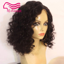 Malaysia Unprocessed virgin full lace front lace human hair wigs glueless curly with Natural baby hair free shipping