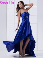 New Arrival High Low Strapless Empire Maternity Bridesmaids Dresses For Pregnant Women Wedding party Dresses Custom Made NEW