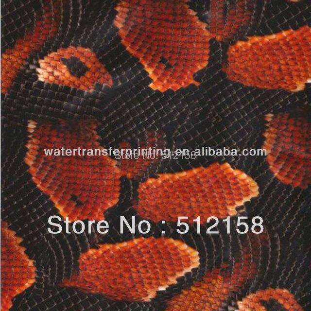 GM1209 100cm Animal Skin Patternwater transfer printing film&Water Transfer Printing Hydro Graphics Film - Boa Snakeskin