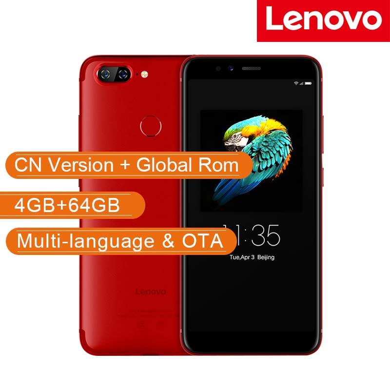 Глобальный lenovo S5 K520 4 Гб Оперативная память 64 Гб Встроенная память Snapdragon 625 Octa Core мобильный телефон 5,7 двойной сзади Камера 13MP спереди 16MP смар...