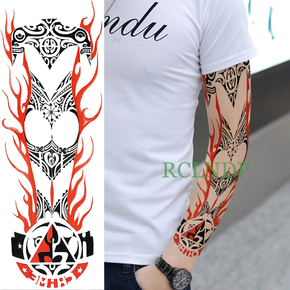 28eedca8 Buy full sleeve tribal tattoos and get free shipping on AliExpress.com