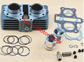 Qianjiang CBT125 CM125 44MM Motorcycle Cylinder Kits With Two Dual Pistons