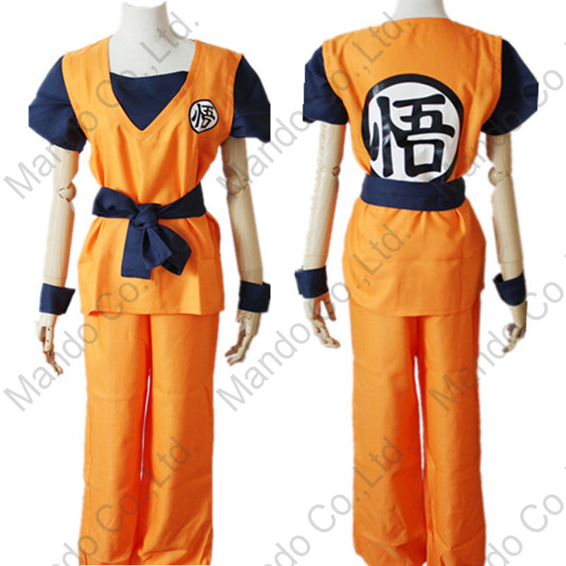 Alta qualidade Anime Cosplay Traje Unisex DRAGON BALL Z Son Goku - Disfarces