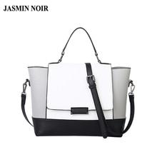 Designer-handtaschen hohe qualität schwarz und weiß tasche mode damen schulter trapeze bags handtaschen frauen berühmte marken
