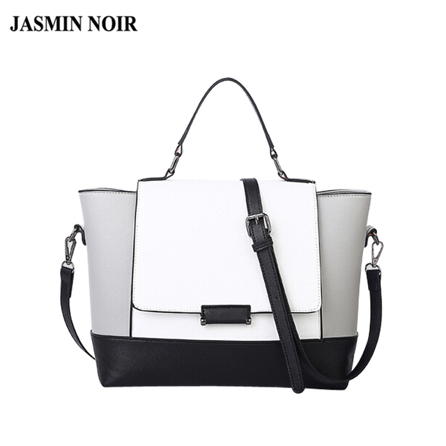 427c18eee0 designer handbags high quality black and white bag fashion ladies shoulder trapeze  bags handbags women s tote bag famous brands
