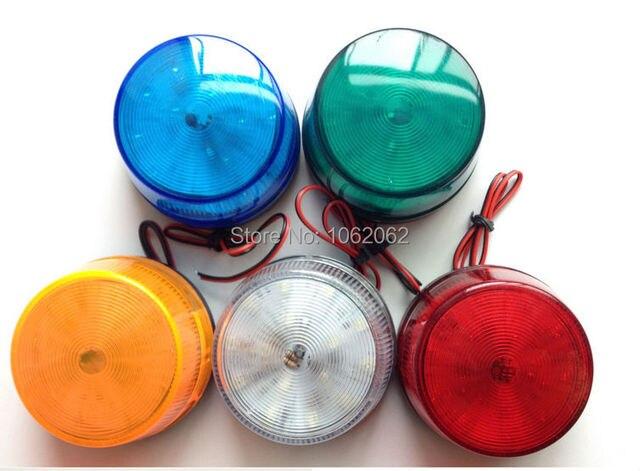 5 Kleur 12 V Alarm Strobe Signaal Waarschuwing LED Lamp Knipperlicht 1 ST