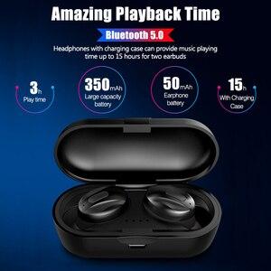Image 5 - XG13 TWS Blutooth 5.0 Senza Fili di Bluetooth del Trasduttore Auricolare Potenza In Ear Mini Auricolari HiFi 3D Stereo Sport Auricolare IP5 Impermeabile Auricolare