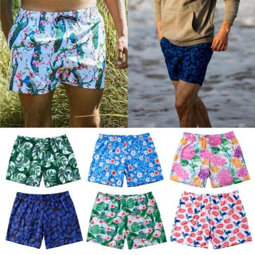Moda yüksek kaliteli erkek Hawaiian yüzme kurulu şort yüzmek şort sandıklar mayo plaj yaz pantolon S-XL