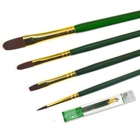 WINSOR&NEWTON fine Nylon Paint brushes Oil Acrylic paint brushes painting supplies 4pcs/set