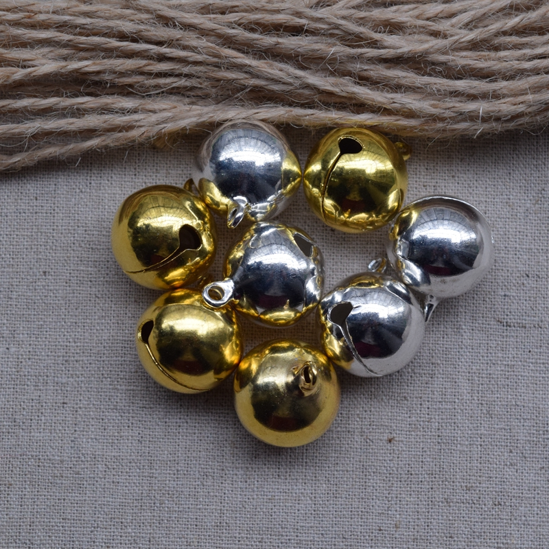 Fashion Metal Small Jingle Goldensilver Can Choose 18mm Bell