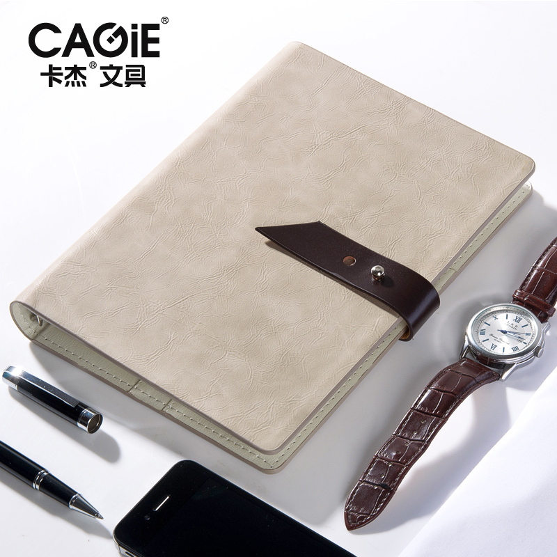 2018 Agenda Cagie Binder a5 Planner Vintage Leather Journal Office Lined Page Spiral Filofax Notebooks School Diary Sketchbook creative hollow leather spiral notebook cute school agenda organizer binder diary planner travel journal filofax stationery a5a6