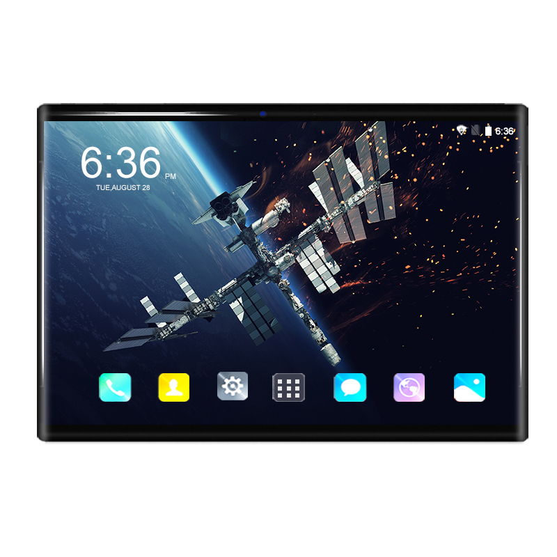 10.1 Inch Tablet PC Android 8.0 Octa Core 6GB+64GB 4G LTE Dual SIM Card Tempered Glass 1280*800 IPS WIFI Bluetooth 10