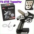 1 unids Original Flysky AFHDS FS-GT2E 2A 2.4g 2CH Sistema de Radio Receptor Transmisor para el Coche de RC Barco con FS-A3 envío de la gota freeship