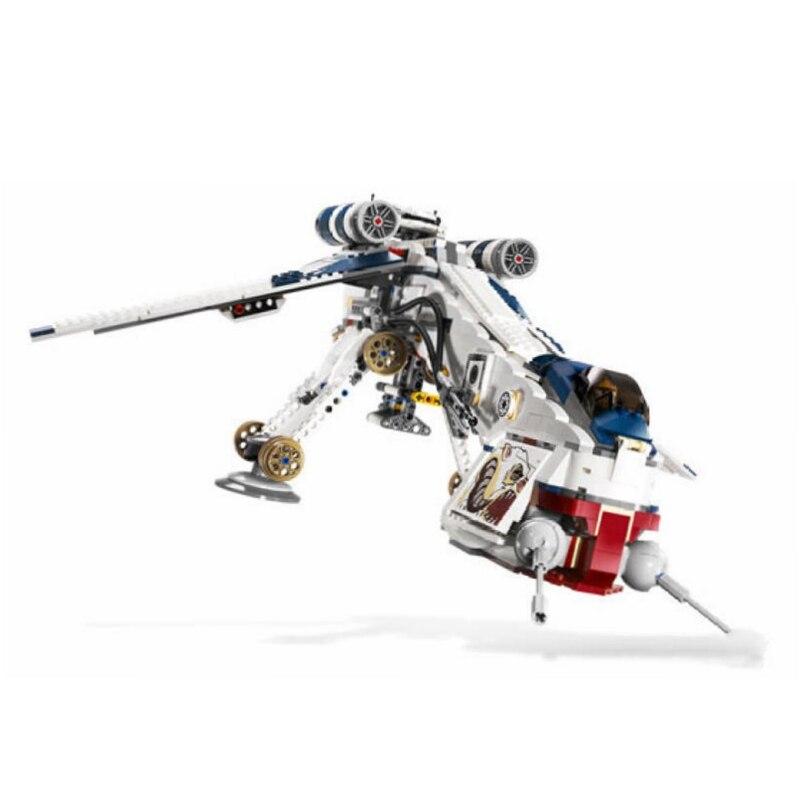 Lepin05053 Legoing Star Wars At Ot Republic Dropship With Walker