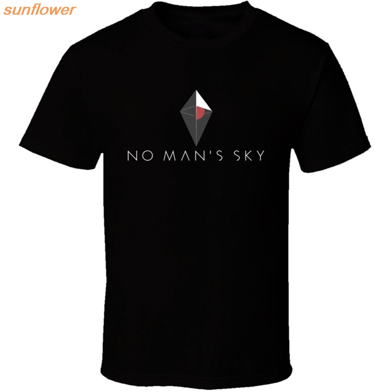 NO MAN'S SKY T Shirt Men Hip Hop Tee Harajuku short Sleeve T-shirt with men TShirt Game Teeshirts