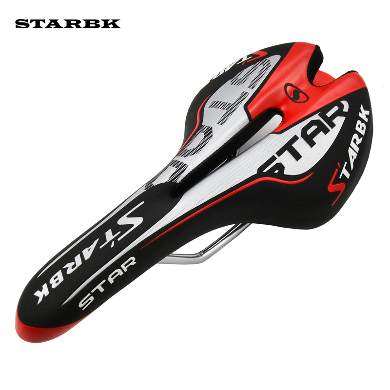 STARBK Pro Road MTB Cycling Saddle Comfortable Silicone Gel Mountain Bike Seat Breathable Selle Carbon Bicycle Saddle Seat road bike carbon fiber saddle mtb bicycle hollow breathable saddle cycling comfortable cushions mountain bike riding accessories