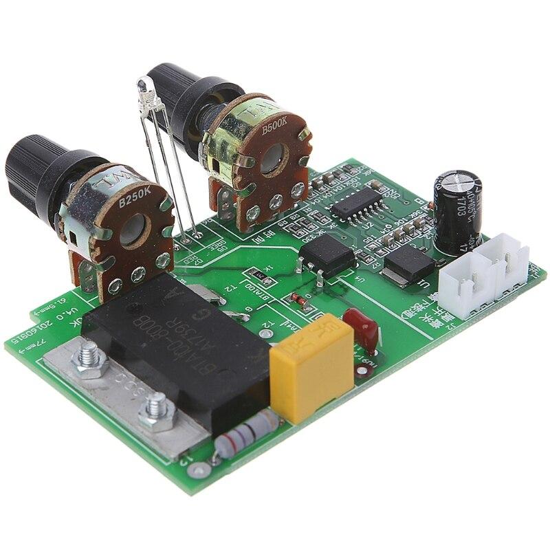 цена на New High quality Spot Welding Machine Time Relay Control Board Current Transformer 100A SCR