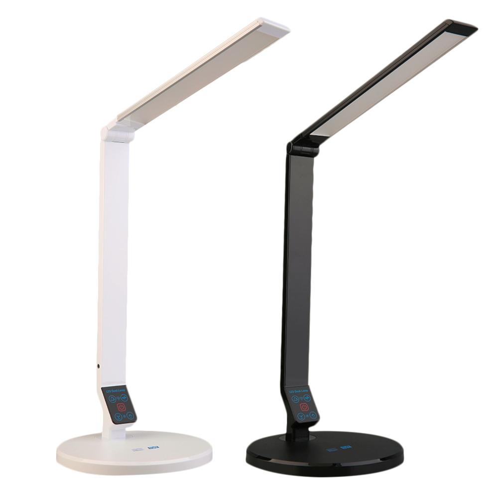 icoco moderna mesa de luz lmpara de escritorio ajustable dimmable llev la lmpara de lectura tctil