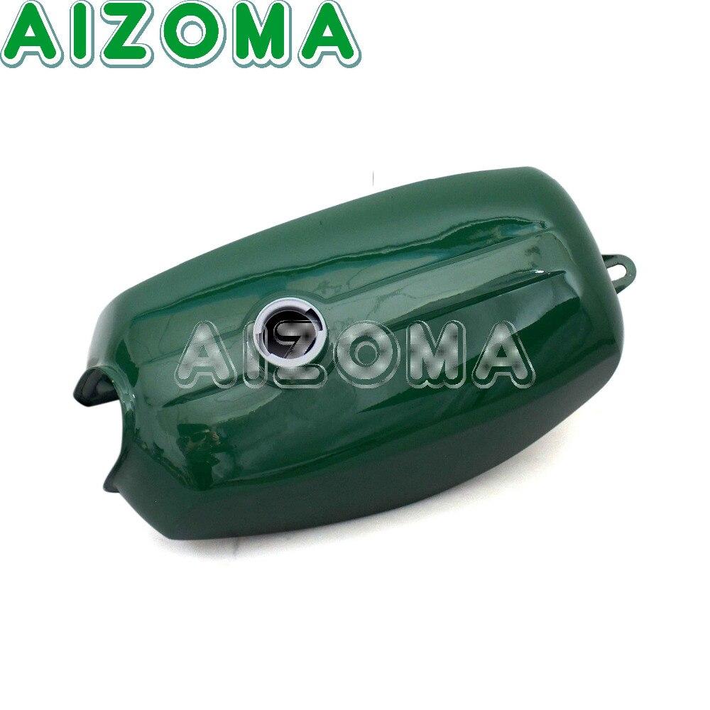 Verde Moto Banana Forma Personalizzata In Acciaio Del Serbatoio Del Carburante 191972 Gas Serbatoio Olio Con 2 pz Copertura Laterale Per Simson S50 s51 S70