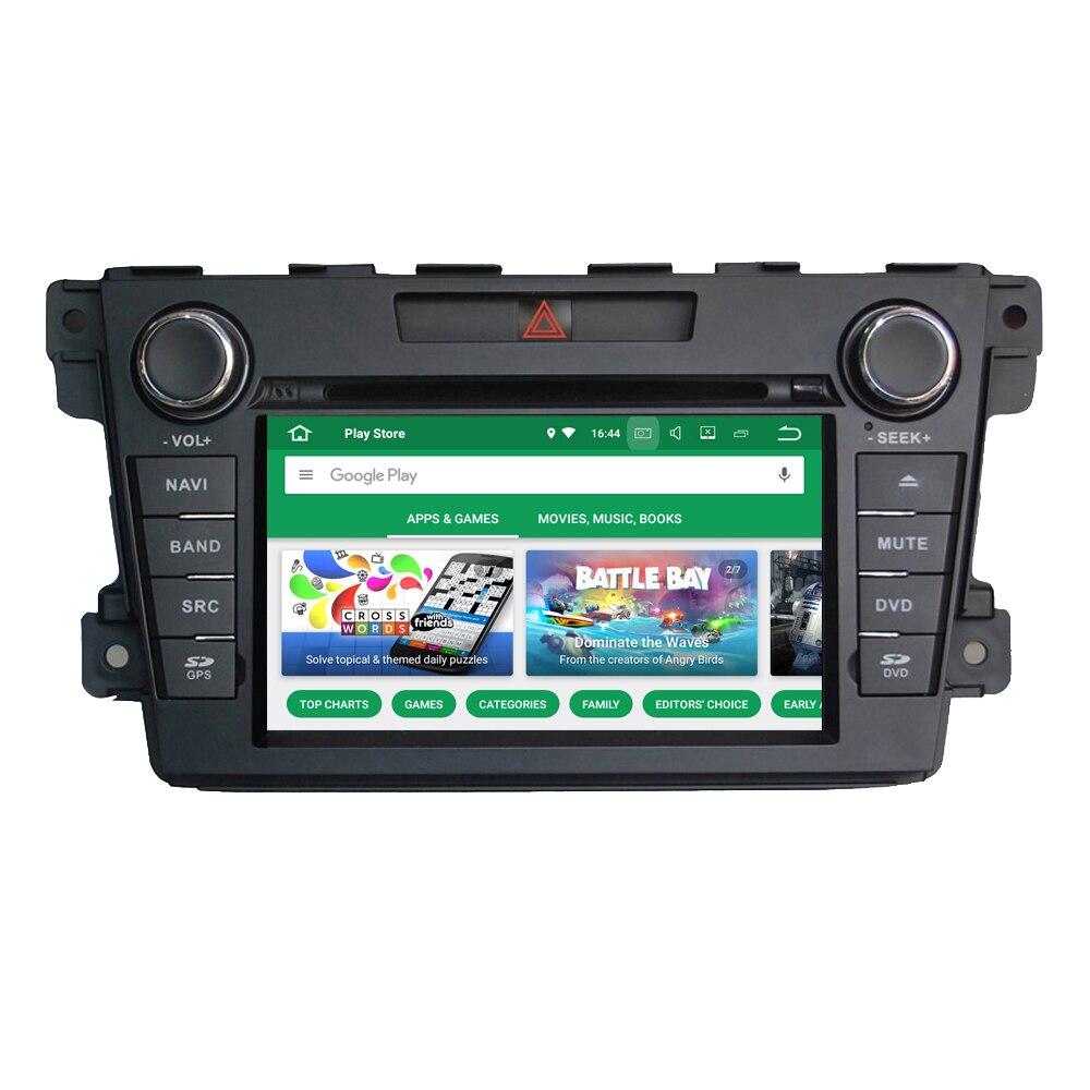 Pour Mazda CX7 CX-7 CX 7 Automotivo DVD Radio stéréo automobile GPS Navigation Automobiles médias Auto multimédia voiture Audio vidéo