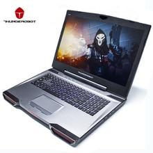 "Thunderobot 911GT-Y6 17.3 ""Игровые ноутбуки ПК таблетки Intel Core i7 7700HQ NVIDIA GTX1060 IPS 16 ГБ Оперативная память 256 г + 1 Т dos os Подсветка"