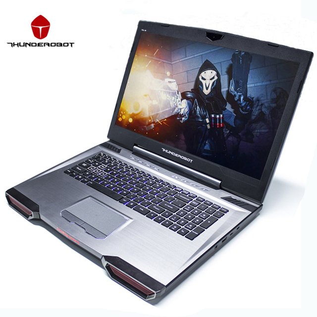 "Thunderobot 911gt-y6 17.3 ""игровые ноутбуки пк таблетки intel core i7 7700hq nvidia gtx1060 ips 16 ГБ ram 256 г + 1 т dos os подсветка"