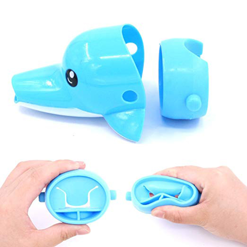 Aotu Cartoon Faucet Extender Sink Handle Extender for Toddler, Baby, Children Safe and Fun Hand-washing Solution