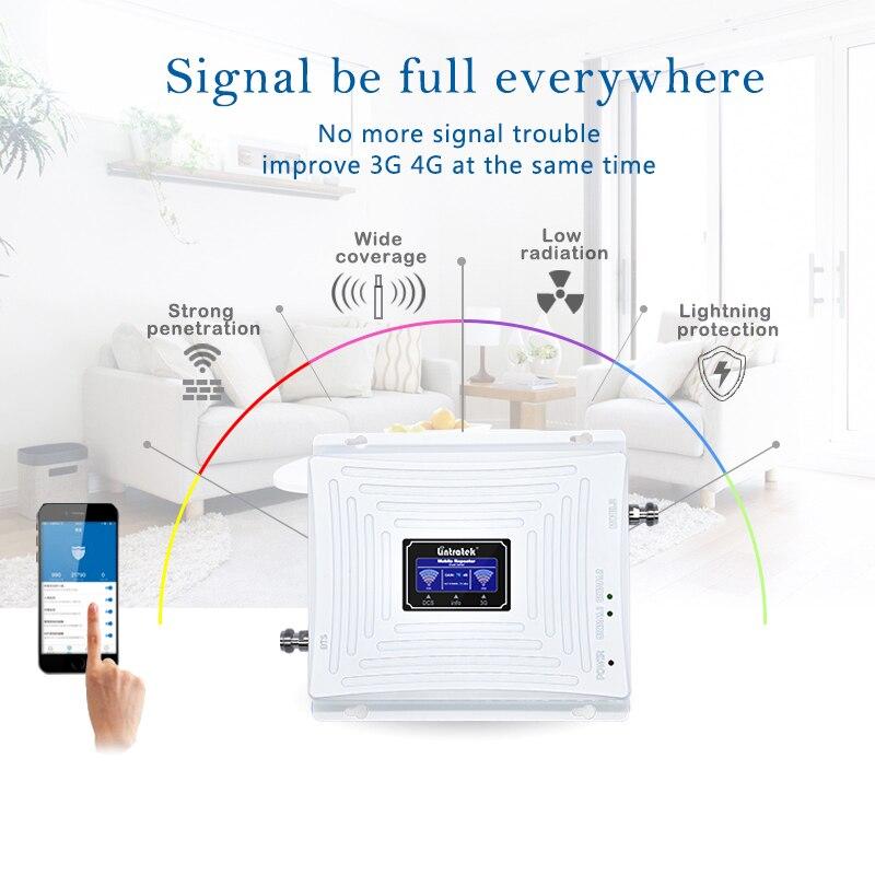 Lintratek 3G 4G Booster 1800 2100 Mhz répéteur 3G 2100 Booster de Signal 4G LTE 1800 amplificateur de Signal double bande UMTS LTE KW20C-DW #5 - 4