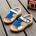 Hot Summer 100% pure genuine leather car suture tendon at the end kids sandals Boys and girls childrens sandals children beach s