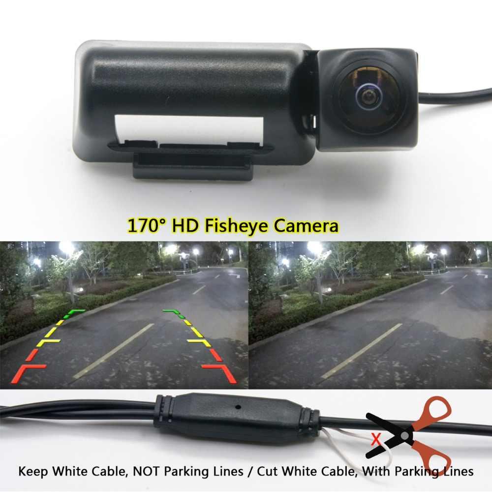 175 градусов 1080 P Fisheye MCCD 12LED Full HD Ночное видение Автостоянка обратный заднего вида Камера для Ford Transit MK6 MK7 Tourneo