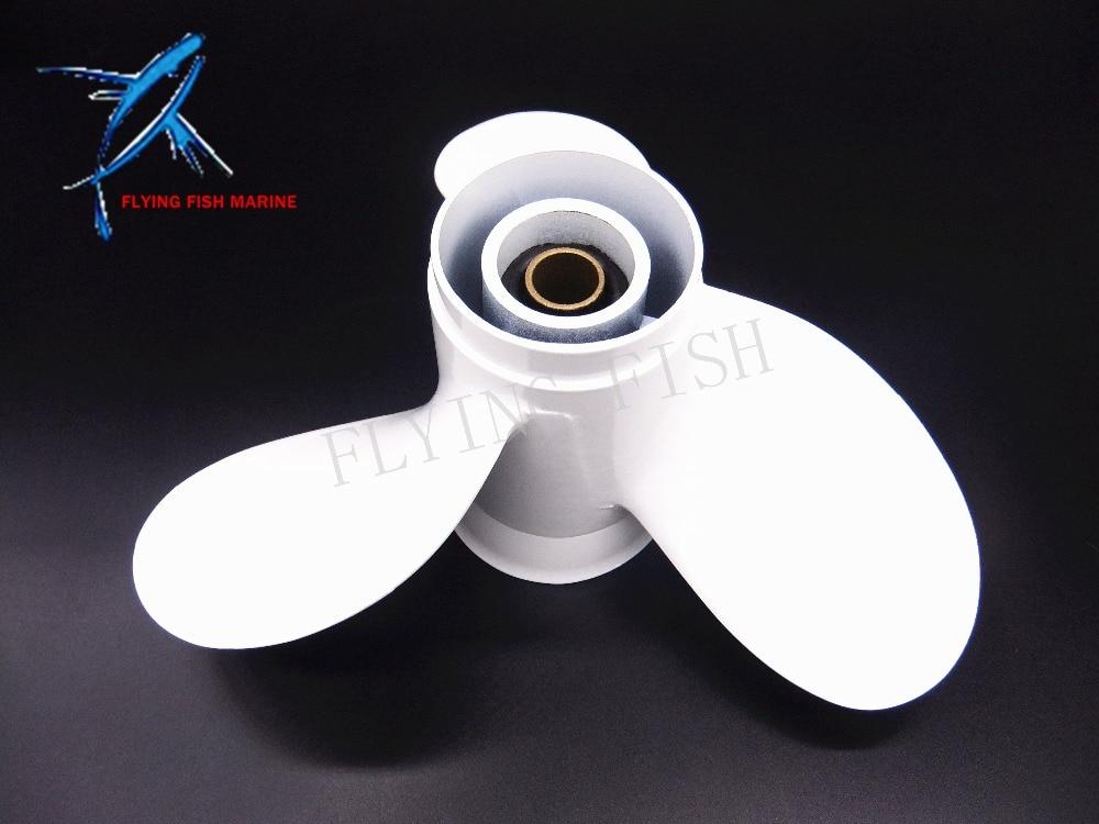 Aluminum propeller 8 1/2 x 7 1/2-N for Yamaha 6hp 8hp 9.9hp F6 F8 F9.9 Boat Engines 6G1-45943-00-EL 8 1/2x7 1/2-N 8 1 2 x 7 1 2 n aluminum propeller for yamaha 6hp 8hp 9 9hp f6 f8 f9 9 boat engines 6g1 45943 00 el 8 1 2x7 1 2 n