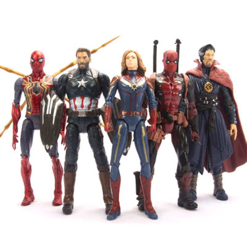 Toy Action-Figure Crazy-Toys Ultron-Iron Marvel Avengers Thor Hulk Pvc Black Widow Captain-America