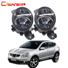 Cawanerl Nissan Qashqai 2007-2013 Için 2X100 W H11 Araba halojen Sis Lambası DRL Gündüz Lambası 12 V Aksesuarları Yüksek güç