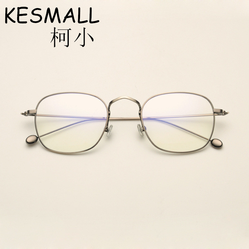 2018 Optical Light Glasses Alloy Frame Women Men Fashion Myopia Eyeglasses Frames Oculos De Grau Male Gaming Glasses Frame YJ705