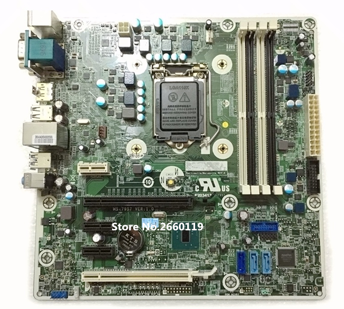 High quality desktop motherboard for 490 G3 MT MS-7957 1.0 793741-001 793305-001 Fully tested dc5850 ms 7500 sff mt desktop motherboard 461537 001 450725 001 100% tested good quality