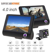 4.0 Inch IPS Screen Full HD 1080P Car DVR Camera Video Recorder Camcorder Auto Dash Cam Support Night Vishion Motion Detection