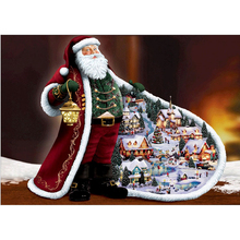 Diamond Painting Diy Full Embroidery People 3d square diamond rhinestone mosaic icon Santas gift