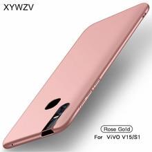 ViVO V15 kılıf ince darbeye koruyucu kapak lüks ultra ince pürüzsüz sert PC telefon kılıfı ViVO için kılıf V15 arka kapak için ViVO V15