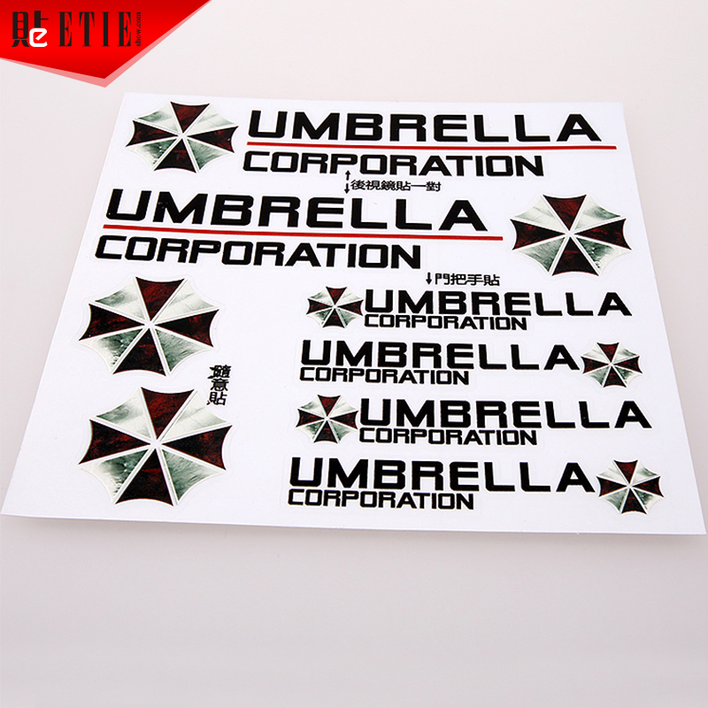 image about 3m Printable Vinyl named 2015 ETIE 15*15 Umbrella Clear Adhesive PVC Sheet 3M