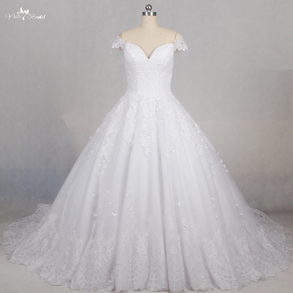 Wedding Ball Gowns Sweetheart Neckline: RSW1178 Sweetheart Neckline Princess Ball Gown Off