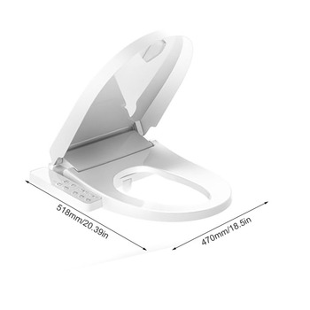 Terrific Exquisite Smart Toilet Seat Cover Waterproof Toilet Seat Beatyapartments Chair Design Images Beatyapartmentscom