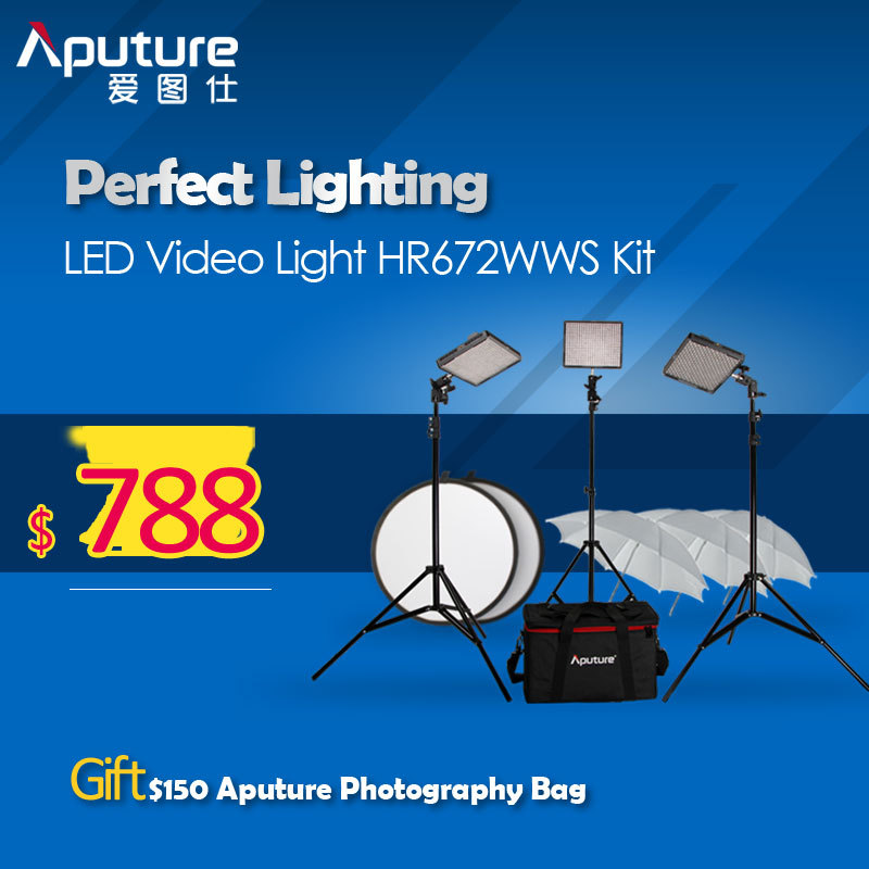 Aputure Photography Video font b Light b font HR672 High CRI95 Led Video font b Light