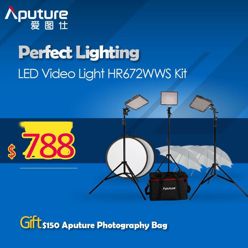 Aputure Photography Video font b Light b font HR672 High CRI95 Led Video font b Light