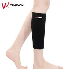 Calf CAMEWIN Leg-Support-Protect Football Cycling Leg-Warm Sports 1-Pair Badminton Breathable