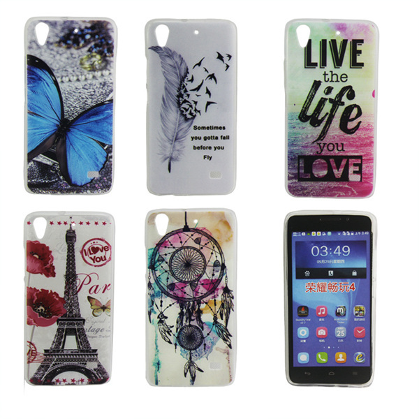 Fashion soft tpu Case huawei ascend g620s Cover Huawei honor 4 play c8817 - lisa topseller's store
