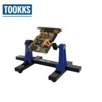 SN-390 регулируемый держатель печатной платы печатная плата лобзик приспособление пайка зажим со стойкой ремонт инструмент для пайки ремонт