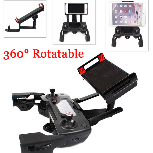 Foldable Tablet Phone Stand Holder for DJI Mavic AIR Mount Clip Stretching Bracket For DJI Mavic Pro /SPARK Remote Controller